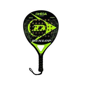 Dunlop Omega Tour Black_Yellow padel bat